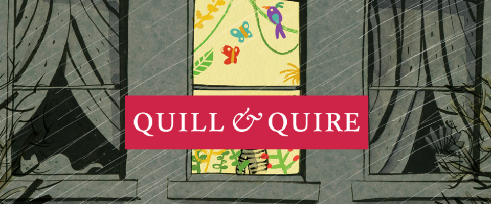 A Starred Review of Sequence in Quill & Quire - A. F. MORITZ