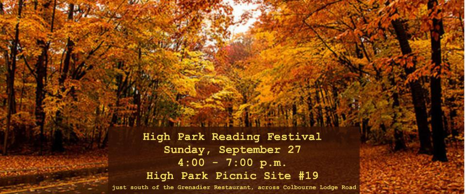 High park reading festival